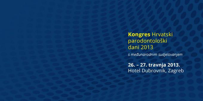 Kongres Hrvatski parodontološki dani 2013